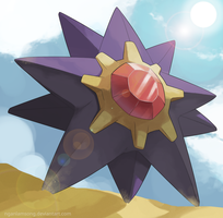 121 - Starmie by nganlamsong