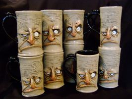 Another gang of mugs by thebigduluth
