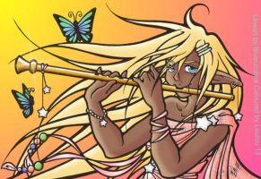 Flute by Loulou13