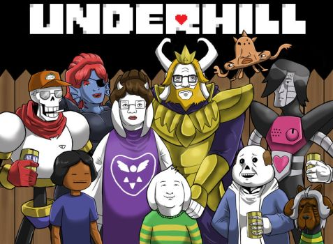 Underhill by GarthTheUndying
