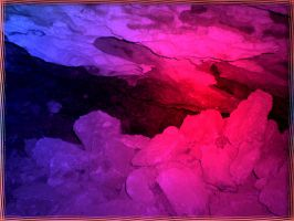 Colourful cave I by Lirulin-yirth
