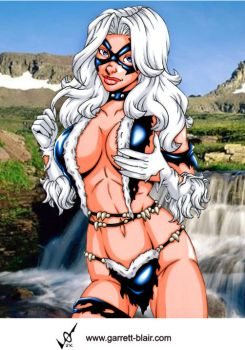 Savage Land Black Cat by gb2k by Mythical-Mommy