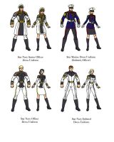 USF Dress Uniforms by InputJack