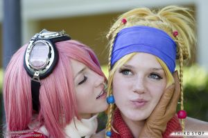 AFO 2011 Rikku and Wait Whaaa? by thirdstop