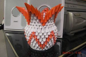 3D Origami - Basket by chris3169512