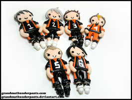 Karasuno Part One by GrandmaThunderpants