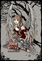 Christmas Angel by Lunakinesis
