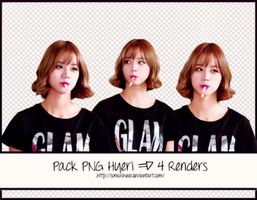 Pack Png Hyeri Girl's Day #10 ~ 4 Render by Suncucheoo