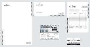 Watkins Catering corporate ID by headwired
