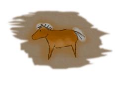 Cave Drawing: Bronze by StarFyreStables