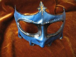 Blue Leather Mask by Nocktis