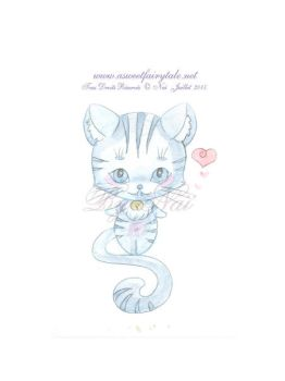 Aquarelle Chat by Nailyce