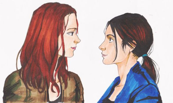 Root x Shaw by laeti-chan
