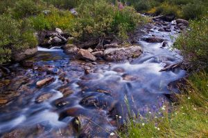 Rock Creek Near Mosquito Flats by shubat