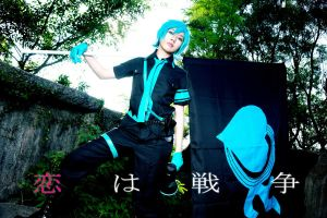 Love is War: Hatsune Mikuo by Zungie