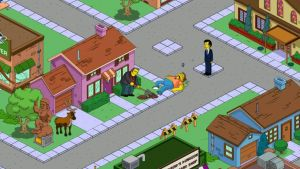 Awkward Moment on Simpsons Tapped Out by NaoTheSillyDuffer