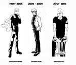JONATHAN STEELE THROUGH THE YEARS by FedericoMemola
