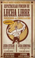 LUCHA LIBRE poster by rodolforever