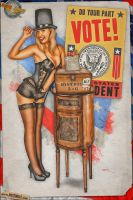 Pinups - Election Day! by warbirdphotographer
