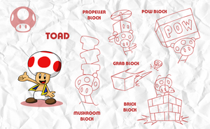 SMASH: Toad by professorfandango