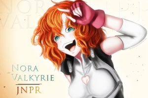 Nora Valkyrie - JNPR by MoonlightBays