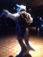Lieutanant Wolfendale Dancing!! (RMFC) by TwistedTerrace