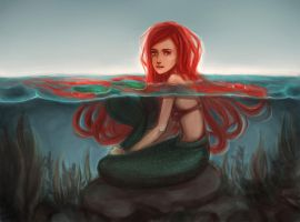 The Little Mermaid: Ariel by shadow-of-myself
