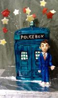 The 10th Doctor Cake by katiesparrow1