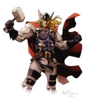 The Mighty Thor by ReillyBrown