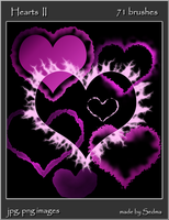 Hearts II - Images for brushes by Sedma