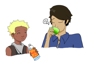 They Drink Together by Wakelord