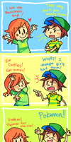 Ahh the days of my youth... by LarkIsMyName