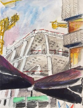 #443 - Unfinished building by Art-Chap-Enjoin