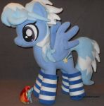 Cloud Chaser in socks by MLPT-fan