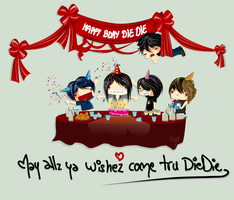 Happy BDAY DIEDIE by japanmeonly