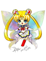 Chibi sailor moon by YuikoHeartless