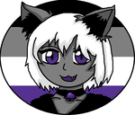 Asexual Momo the Cat by fictionalpride