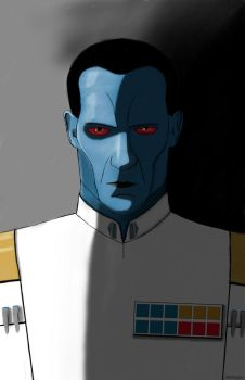 Grand Admiral Thrawn by DAN1637IEL