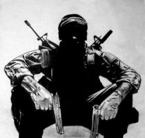 Call of Duty-Black Ops by HoustonTxArtist