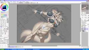 Spinnerette desktop WIP by chochi