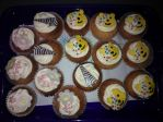 Pudsey Cupcakes by PaddysDemon