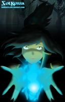 SolKorra Blue Fire Bender by SolKorra