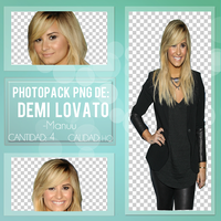 Photopack png. Demi Lovato by Manuuselena