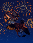 Fireworks by comixqueen