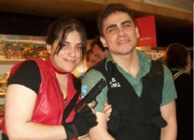 Me and my sis for real by Chris--Redfield