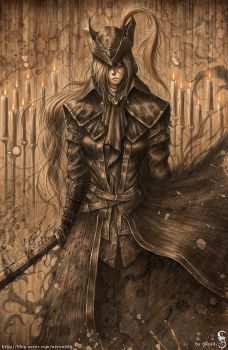 Lady Maria by GothmarySkold