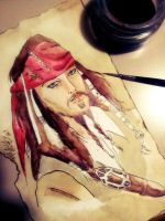 wip jack sparrow fan art by Dream-Catcher-88