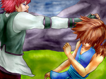 Fighting At Hell's Gate - Kain - Offence SQ5 by IWillFly