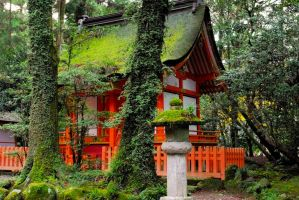Shrines : Temple Building 01 by taeliac-stock