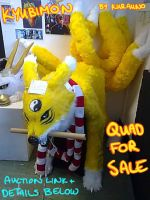 Kyubimon Quadsuit SOLD!!! by Yuki-Moon